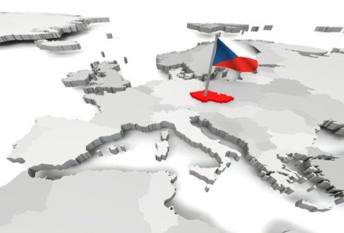 Tschechischer Markt in der Mitte Europas